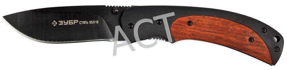 Нож Зубр Премиум Титан - длина лезвия 80мм 47719